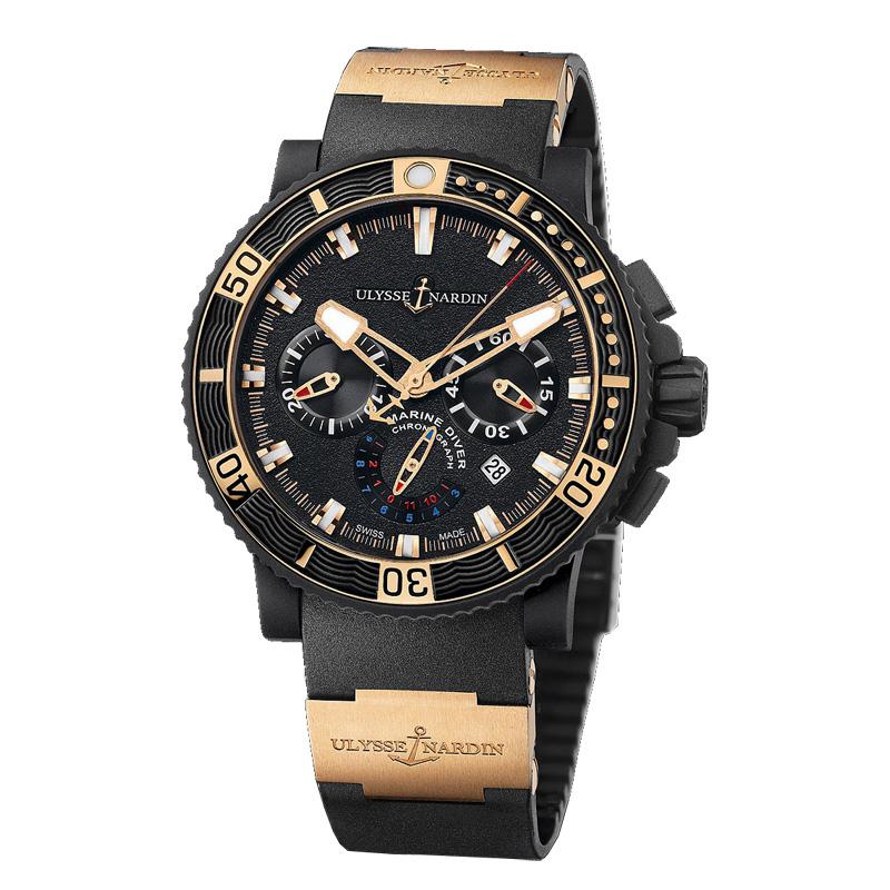 Часы наручные ulysse nardin marine черные