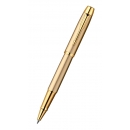 Ручка PARKER IM BRUSHED METAL GOLD роллер